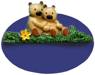 Kinderzimmerschild Teddys