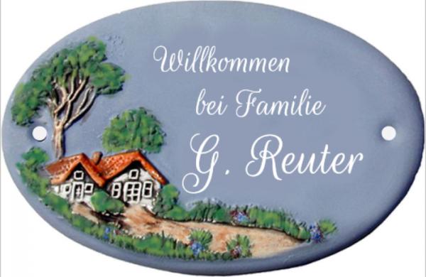 Türschild Klassik Art Landhaus 358