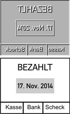 Ersatztextplatte Colop Printer Datumstempel 54-Dater