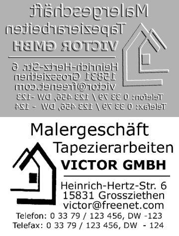 Ersatztextplatte Trodat Professional 5206