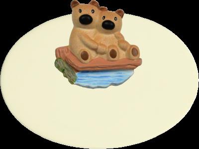 Zimmer Türschild Teddys