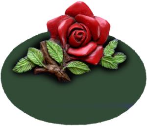 Kinderzimmerschild Rose