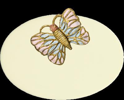 Zimmer Türschild Schmetterling