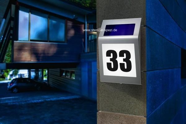 Solar Hausnummernleuchte Style