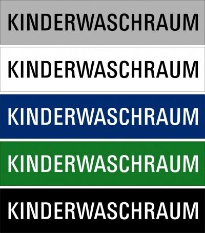 """Hinweisschild """"Kinderwaschraum"""""""