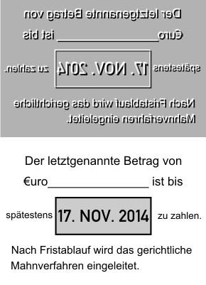 Ersatztextplatte Colop Printer Datumstempel 55-Dater
