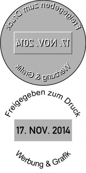 Ersatztextplatte Colop Printer Datumstempel R30-Dater