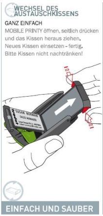 Stempelkissen-Mobile