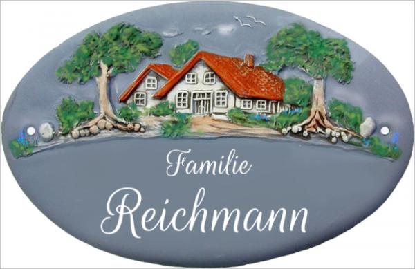 Türschild Klassik Art Landhaus 330