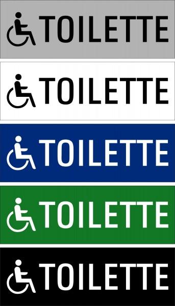 """Hinweisschild """"Behinderten WC"""""""