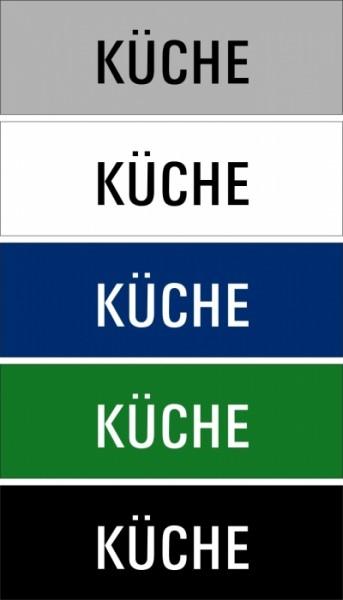 "Hinweisschild ""Küche"""