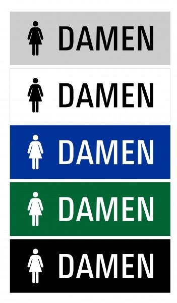 "Hinweisschild ""WC Damen"""