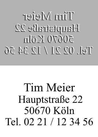 Ersatztextplatte Colop Printer 52