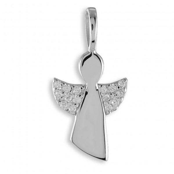 Anhänger Engel Silber mit Steine